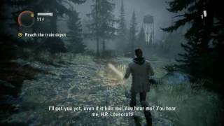 Alan Wake - Episode 3: Ransom - On The Run - ALL Collectibles