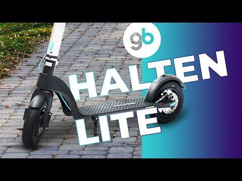HALTEN LITE - идеальный легкий городской самокат со съёмной батареей. Бюджетный со стильным дизайном