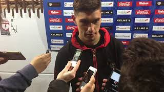 Emiliano Velázquez tras el Rayo Vallecano 3-0 SD Huesca