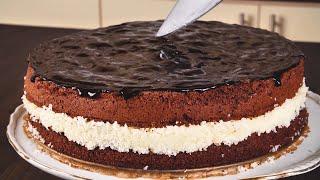 Нежнейший торт Баунти для любителей райского наслаждения