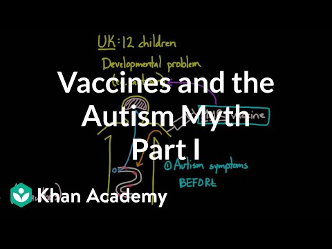 Vaccines and the autism myth - part 1 | Infectious diseases | Health & Medicine | Khan Academy