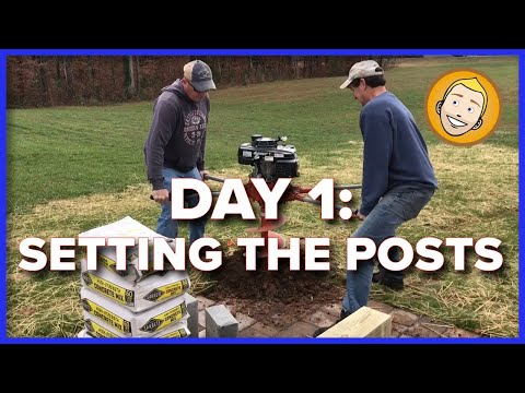 How to build a Ramada or Pavilion DIY (Part 1)