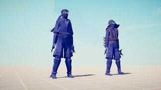 NINJA & SENSEI vs EVERY UNIT - Totally Accurate Battle Simulator TABS