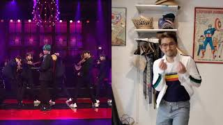 "BTS 작은 것들을 위한 시 ""Boy With Luv"" SNL Dance Cover"