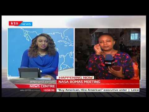 NASA to welcome Bomet Govenor Isaac Ruto at Bomas of Kenya