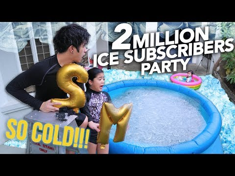 2 MILLION ICE SUBSCRIBERS PARTY | Ranz and Niana