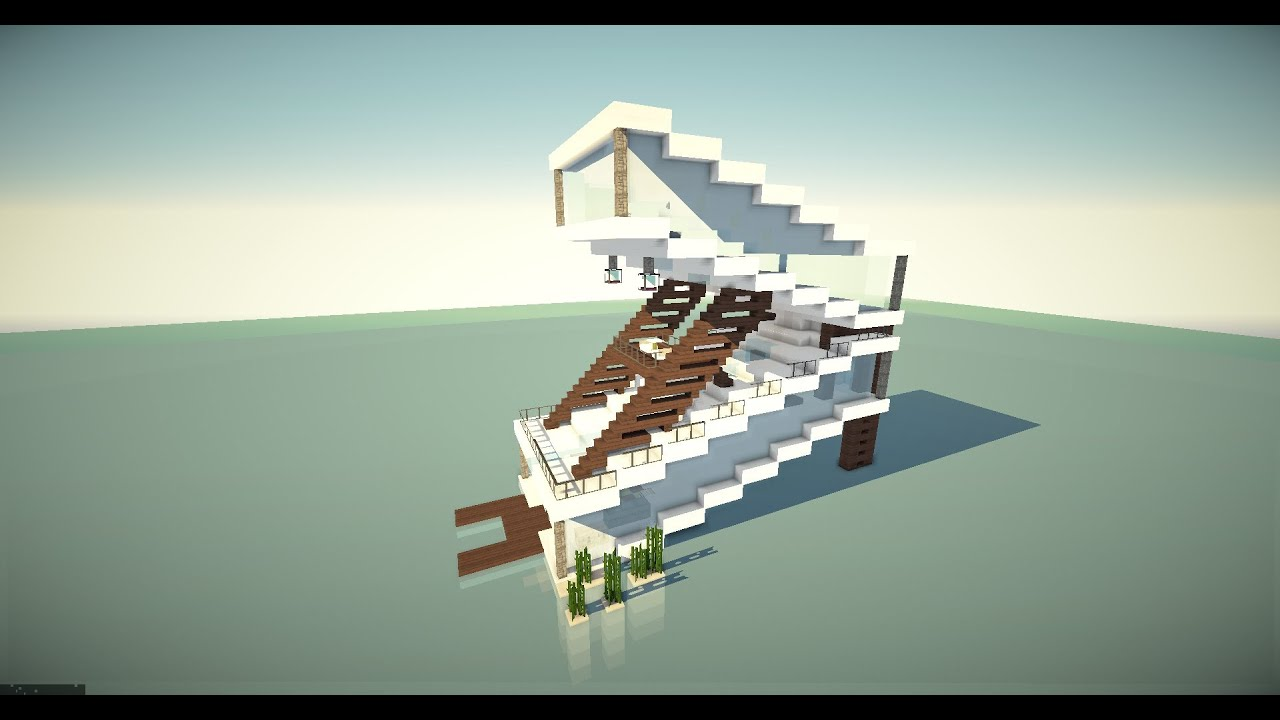 Minecraft House Ultra Modern YouTube