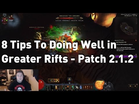 8 Tips in Greater Rift Progression on The Leaderboard - Patch 2.1.2