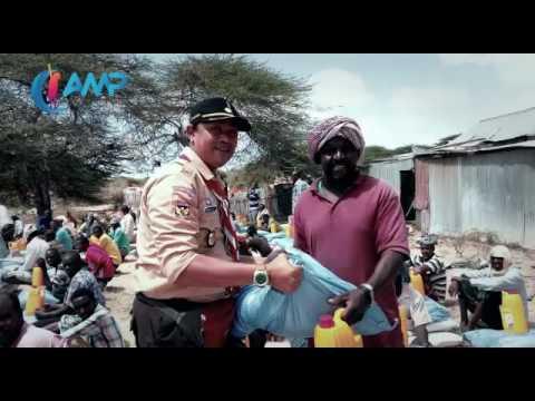 Pembagian Bantuan Program Peduli Afrika Cinta Sedekah