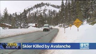 Skier Killed By Avalanche At Alpine Meadows