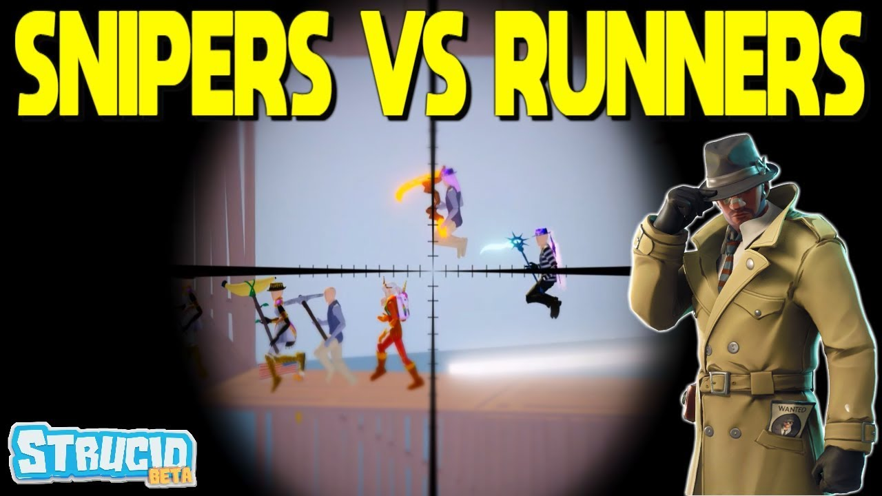 Snipers VS Runners In Strucid *GONE WRONG* (Roblox) - YouTube
