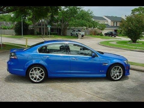 Epic Pontiac G8 exhaust sounds