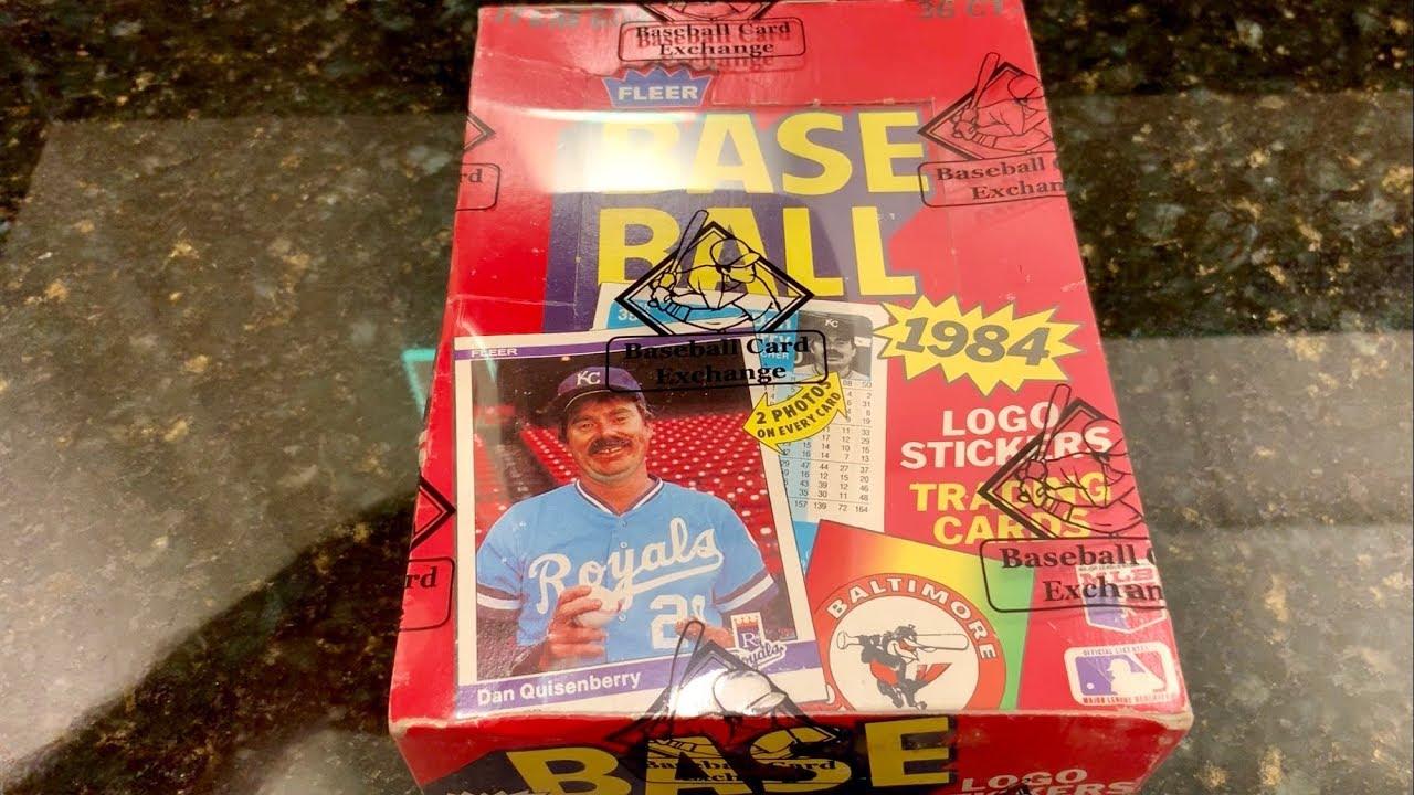1984 Fleer Baseball Card Box Opening Don Mattingly Search Throwback Thursday
