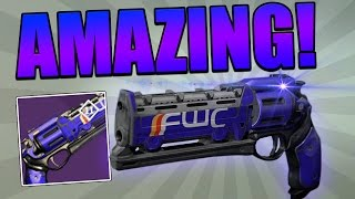 "DESTINY : INSANE CRUCIBLE HAND CANNON! (One of the Best) ""The Fulcrum"""