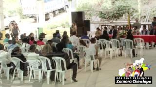 SABANILLA SE BENEFICIA CON LA LABOR DEL GOBIERNO PROVINCIAL DE ZAMORA CHINCHIPE