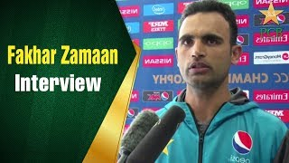 Fakhar Zaman interview on becoming the first Pakistani to score a Double Century in ODIs   PCB