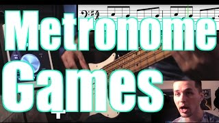 7 Cool Metronome Games [ AN's Bass Lessons #5 ]