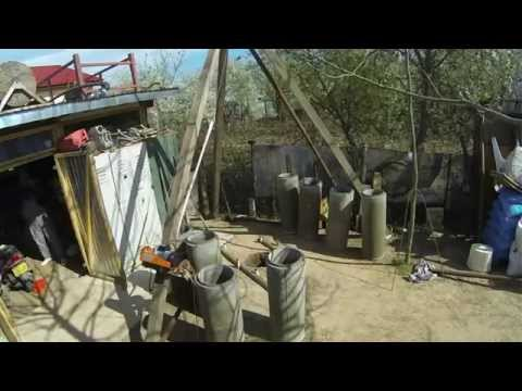 How to drill your water well,time-lapse