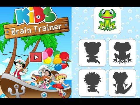 Kids Brain Trainer Memory / Preschool / For Children / Baby / Android Gameplay Video