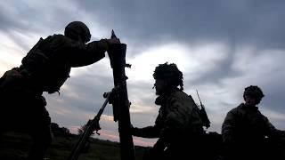 Brigaden skyder skarpt