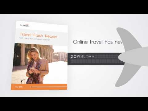 Online Travel trends in the Criteo Travel Report 2016