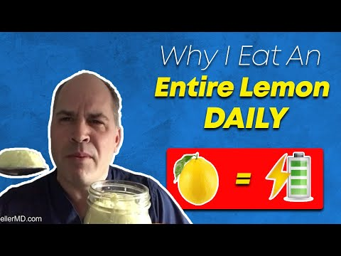 Can Eating A Lemon Per Day Sky Rocket My Energy?