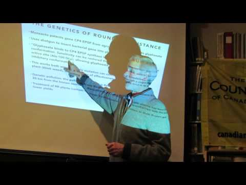 Dr. David Coombs: Science and Mechanism of Glyphosate PART 1