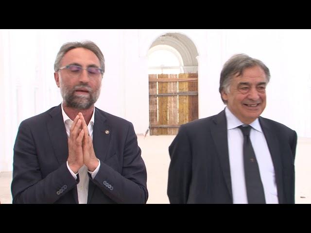Consegna dei nuovi locali del complesso San Francesco - Conservatorio Palermo