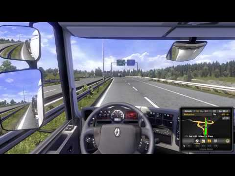 Euro Truck Simulator 2 - A delivery across Switzerland