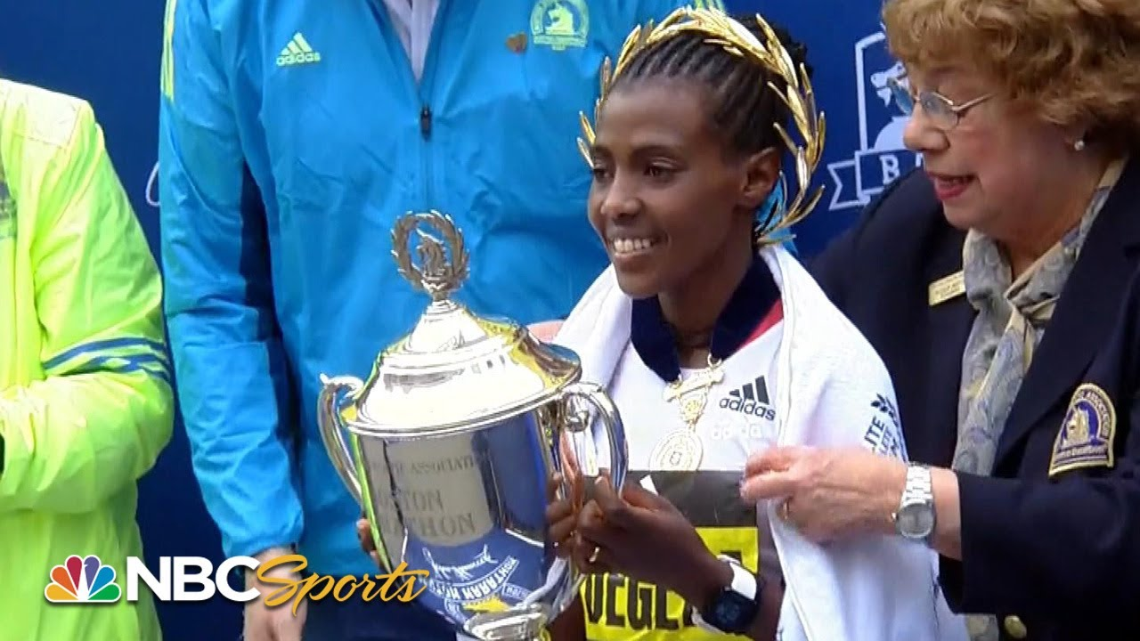 Boston Marathon 2019 Women's Elite: Worknesh Degefa cruises to win | NBC Sports