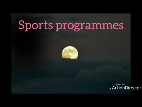 Sports programmes /planning in sports /physical education /class 12/ CBSE board