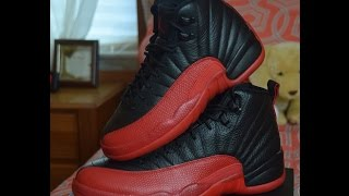 Jordan 12 Bred Flu Game Men's and GS Review + On Foot