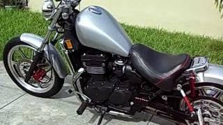 Repeat youtube video kawasaki vulcan bobber chopper rat road custom