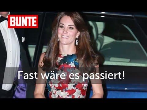 """Herzogin Kate - Fast hätte es """"ratsch"""" gemacht - BUNTE TV"""
