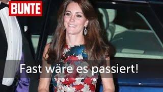 """Herzogin Kate - Fast hätte es """"ratsch"""