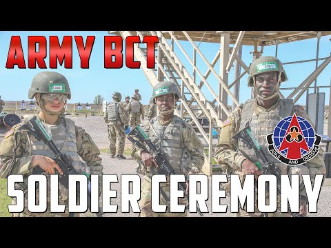 Becoming A Soldier - Echo 1-40 Soldier Ceremony - Fort Sill Basic Combat Training