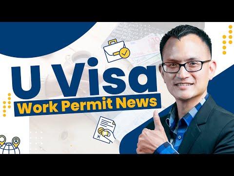 U Visa EAD | U Visa Work Permit [Work in the United States]