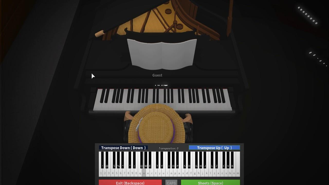 Roblox virtual piano: Queen - We are the champions *ADVANCED*