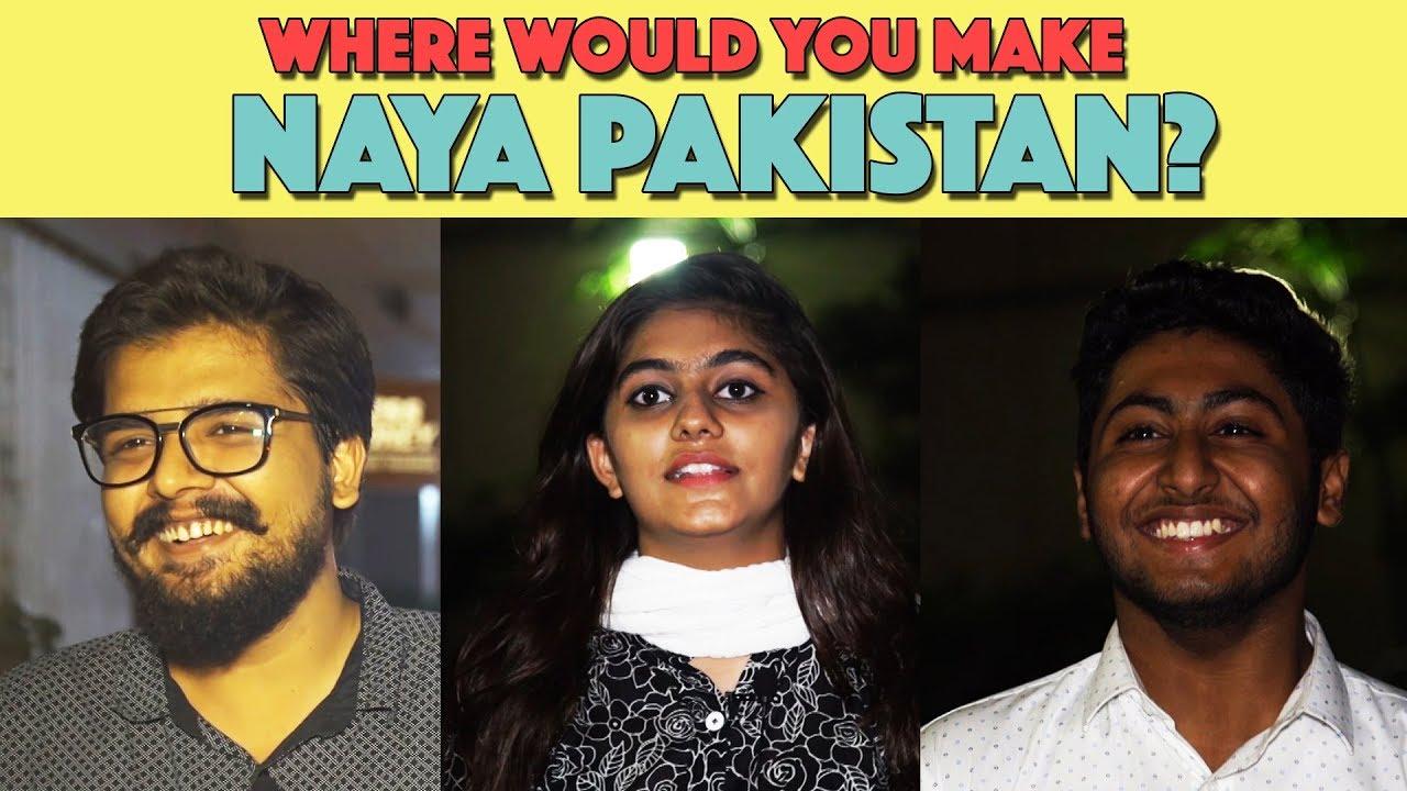 Bolo Pakistan | Where Would You Make Naya Pakistan? | MangoBaaz