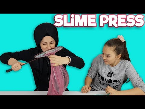 Rahatlatıcı Slime Press Videosu | Rengarenk Slime ları Görünce Ağzımız Açık Kaldı | SLIME PRESSING
