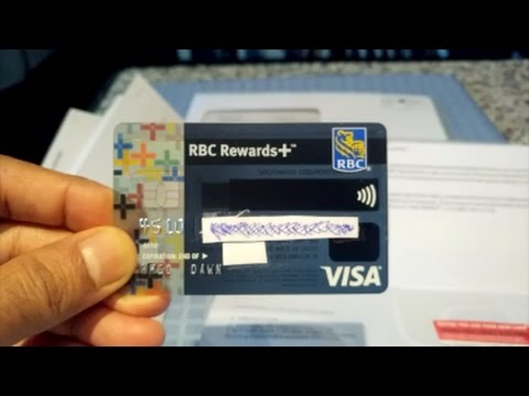 RBC Rewards+ Visa Credit Card Unboxing & Brief Review by Financial Author Ahmed Dawn