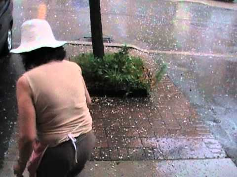 hail storm in north york MAY 9 2011