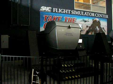 Limited full motion public flight simulator Strategic Air and Space Museum Ashland, NE