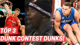 Top 3 Dunks From Every NBA Slam Dunk Contest! (2011-2021)