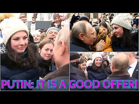 WOW! Putin Got A Marriage Proposal From Young Russian Woman In Ivanovo, Known As 'City Of Brides'!