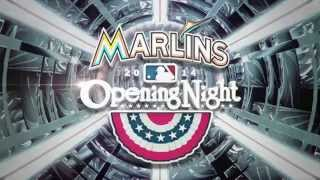 Celebrity Opening Day Video - Miami Marlins 2014