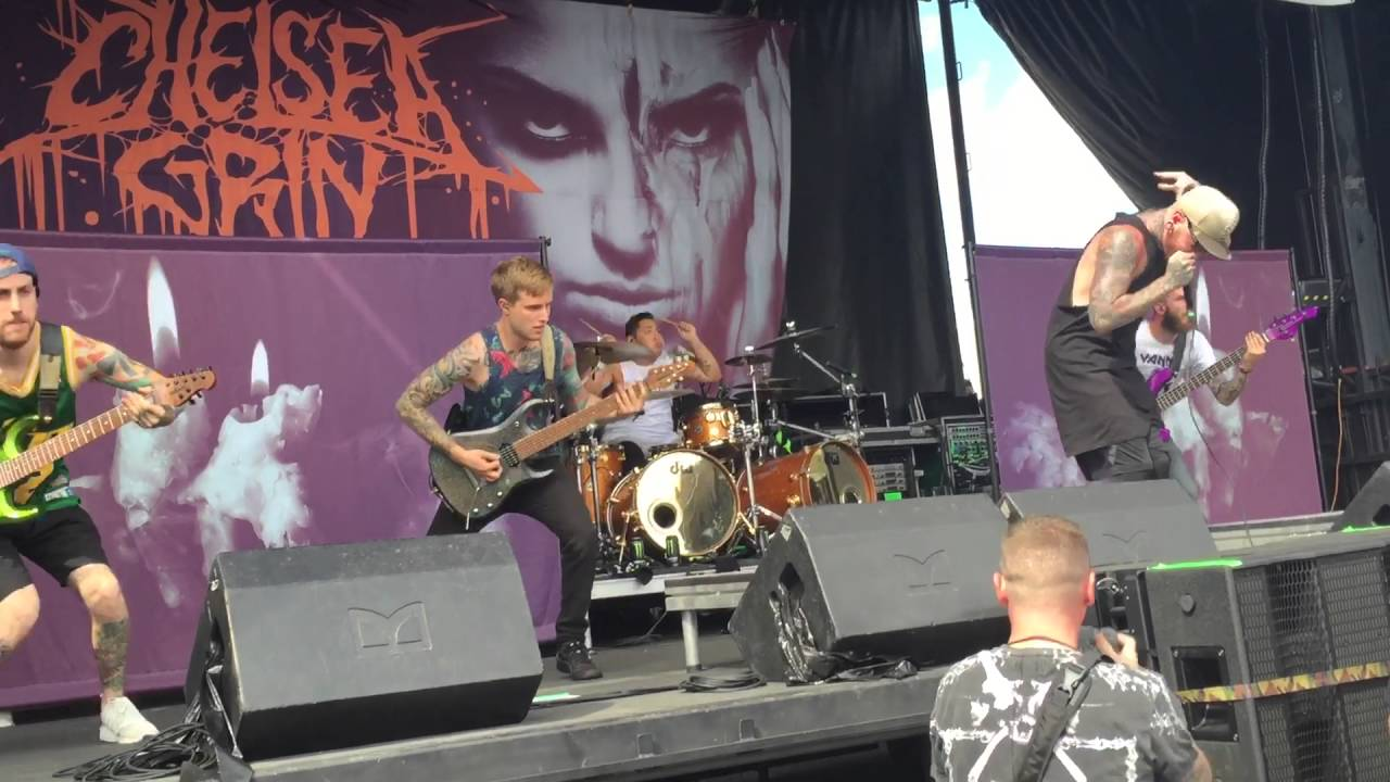 Chelsea Grin Live Warped Tour