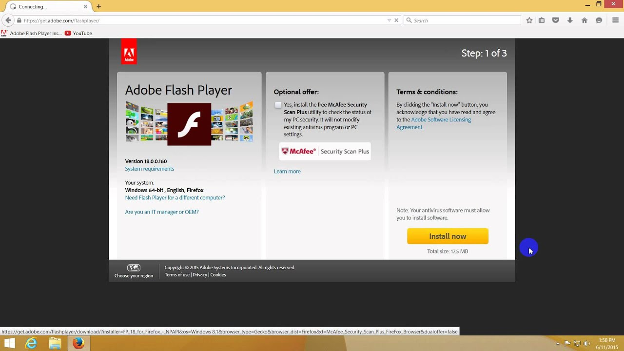 download flash player video online