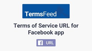 Terms of Service URL for Facebook app Mp3