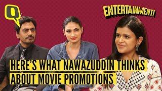 Nawazuddin Siddiqui and Athiya Shetty on 'Motichoor Chaknachoor'   The Quint
